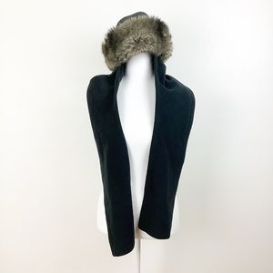 Zelpa Faux Fur Hat And Scarf Combo